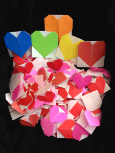 San Quentin hearts for Children's Hospital, 2015